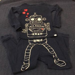 Just in! Gently Used Size 4T Gap Robot PJs